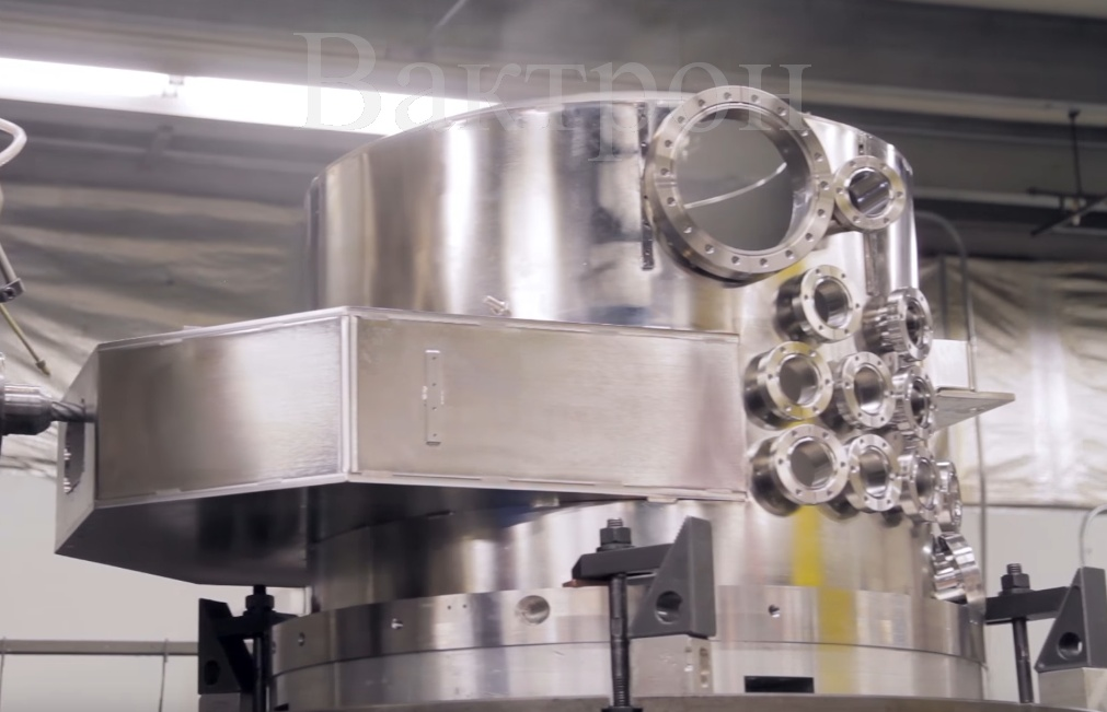 Сверхвысоковакуумные сферические и цилиндрические камеры