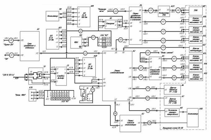 14- Электрическая схема