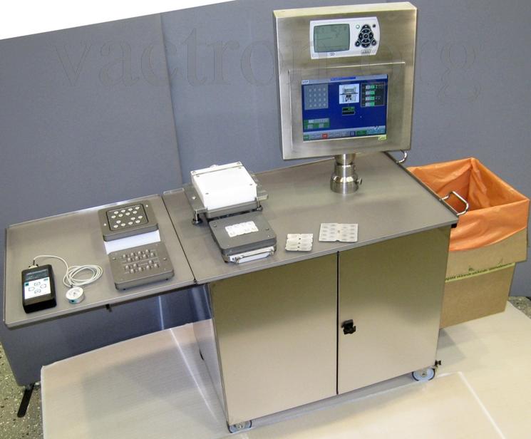 Установка контроля герметичности упаковки