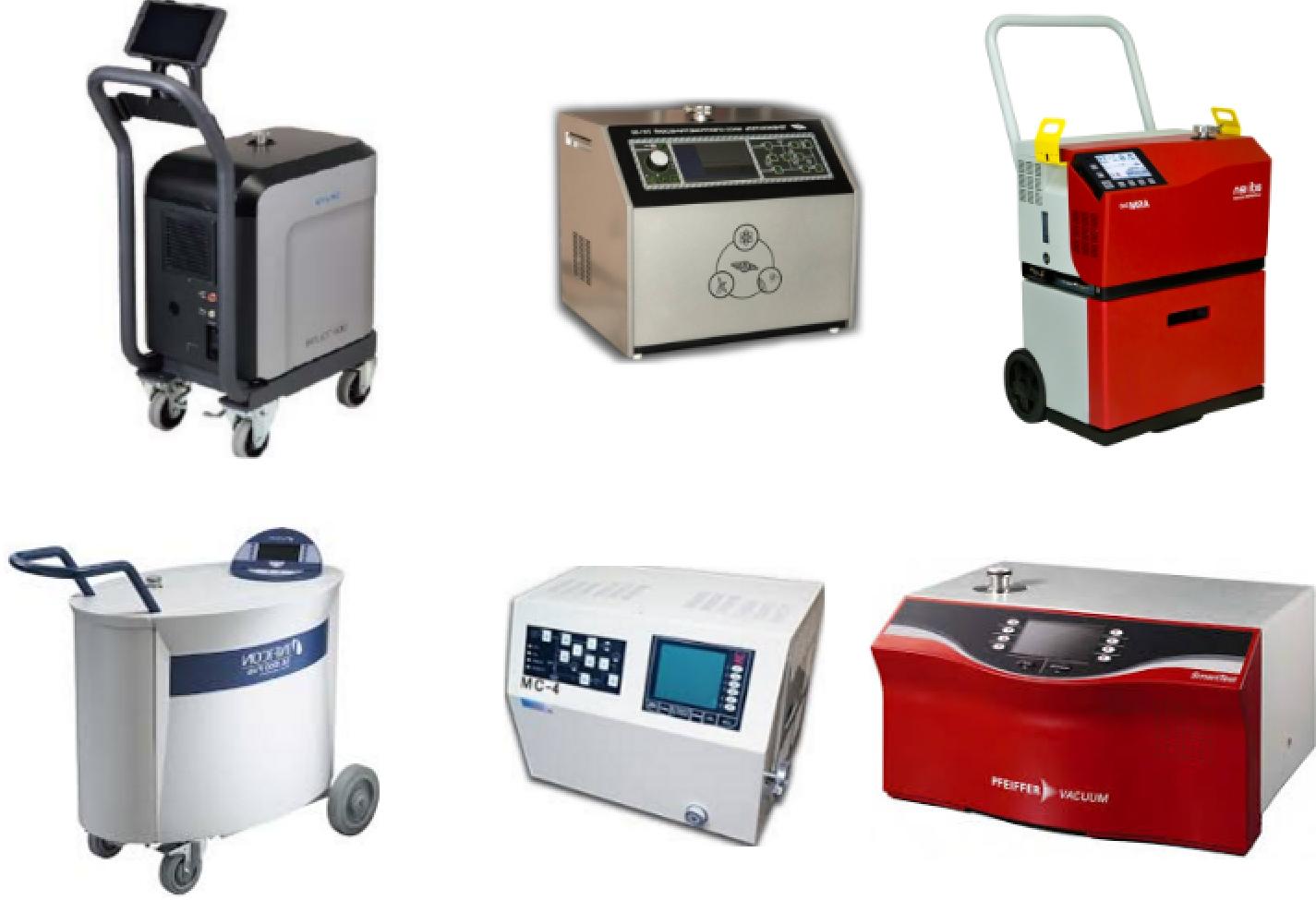 Выбор масс-спектрометрического течеискателя