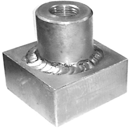 Тестовый объект для контроля герметичности сварных швов