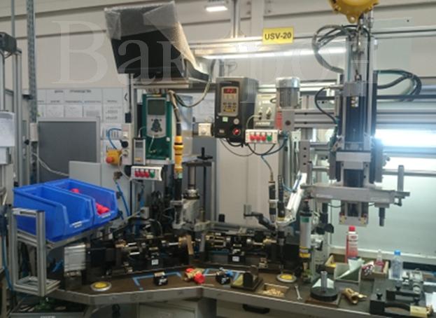 Установка высокопроизводительного контроля герметичности запорной арматуры