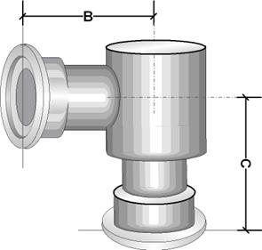 Уголок KF VT013 сварной с повышенной проводимостью