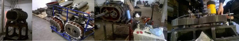 Ремонт механических насосов установок вакуумирования стали