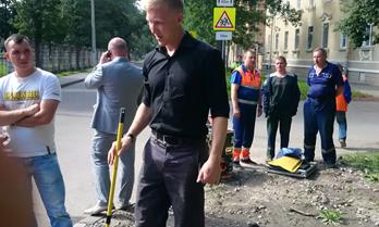 Обнаружение утечек газопровода «ПетербургГаз»