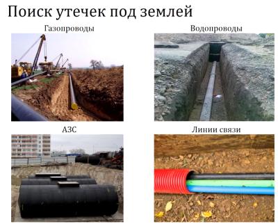 Поиск протечек в скрытых трубах с выездом на объект в Санкт-Петербурге